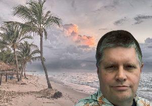 At the beach 300 x 225